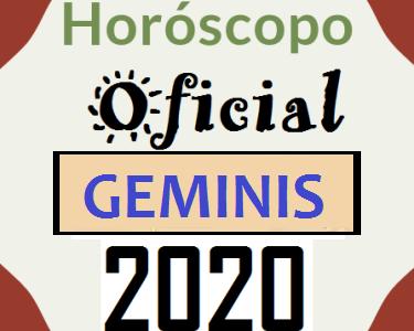Geminis 2020 el Horoscopo Oficial